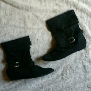 Express Black Ankle Boots